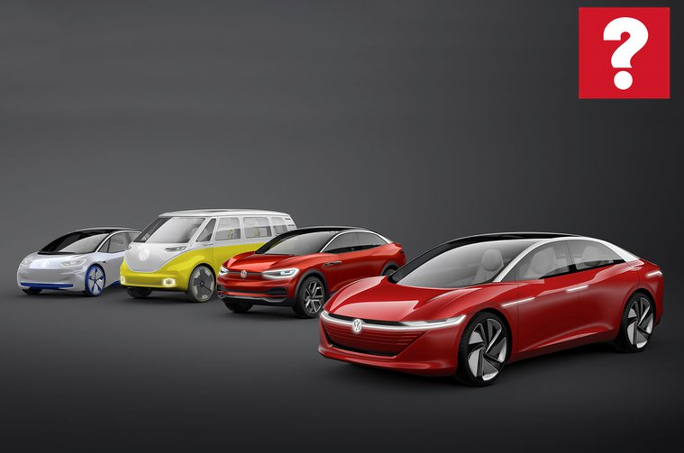 Volkswagen ID family of cars