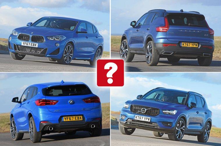 Used test: BMW X2 vs Volvo XC40