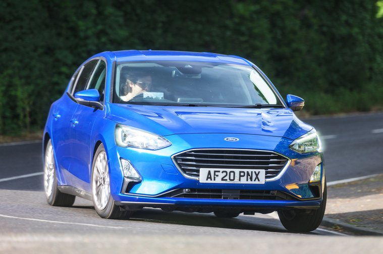 2020 Ford Focus front action