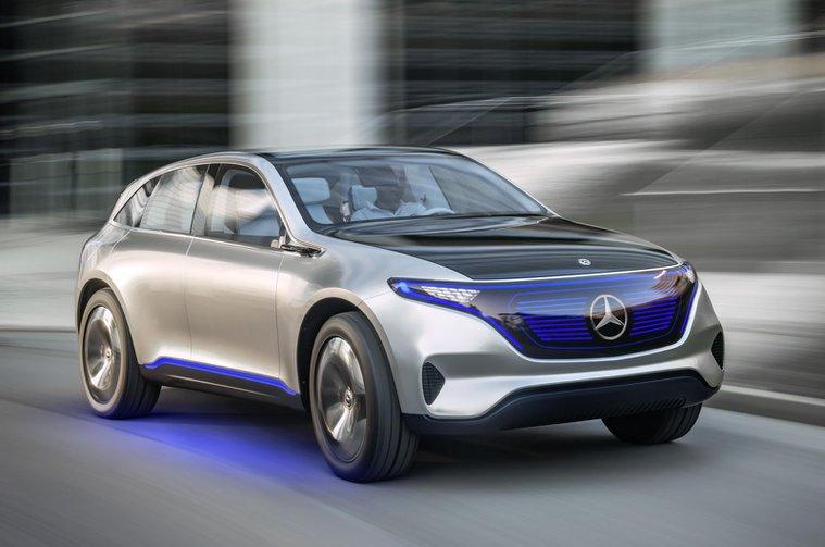 Mercedes Generation EQ concept front