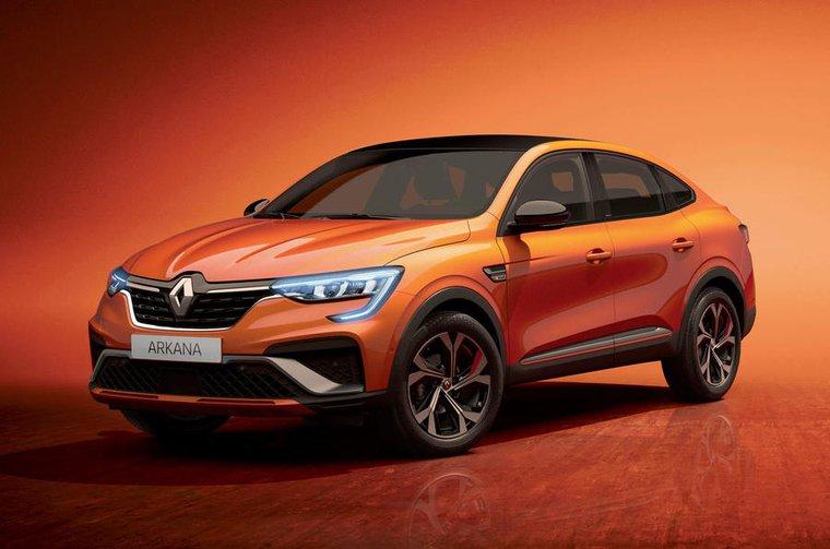 Renault Arkana front studio