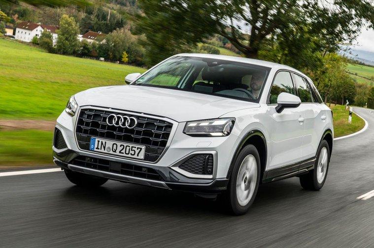 Audi Q2 2020 LHD front