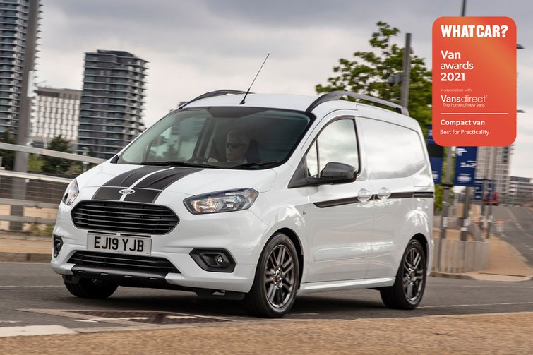 Van Awards - Ford Transit Courier (new logo)