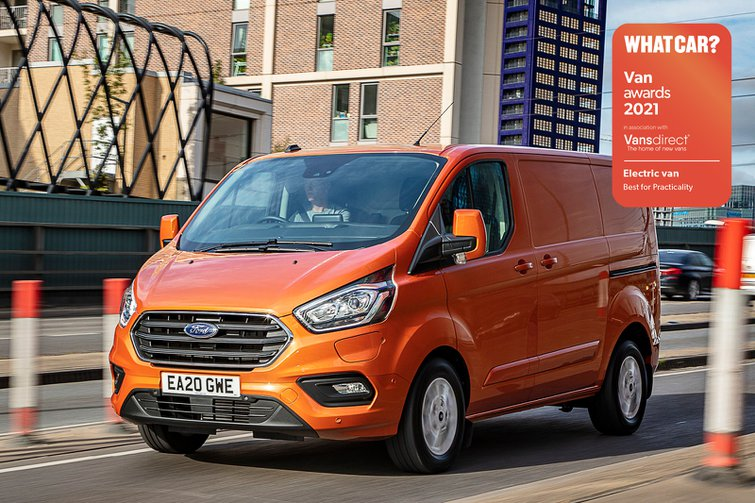 Van Awards 2021 - Electric Van - Best for Practicality (new logo)