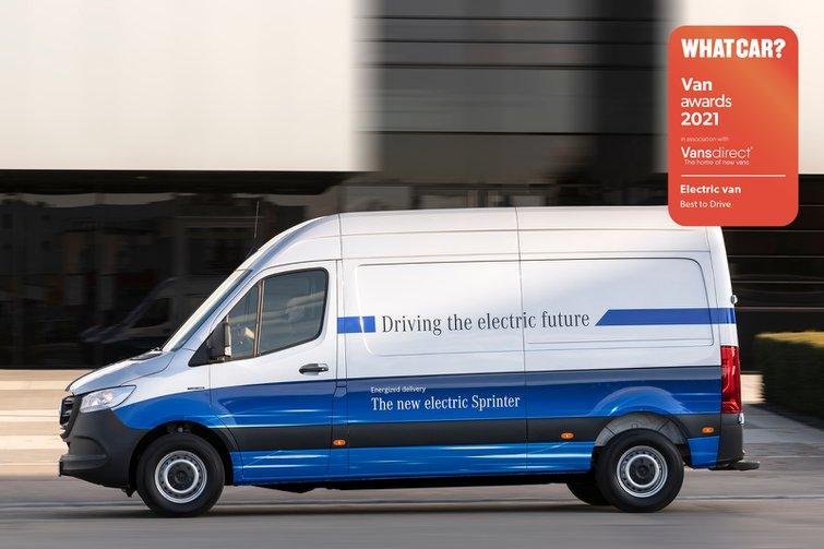 Van Awards 2021 - Electric Van - Best to Drive (new logo)