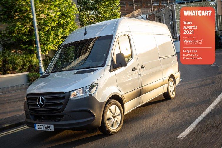 Van Awards 2021 - Large Van - Best Value for Ownership Costs (new logo)