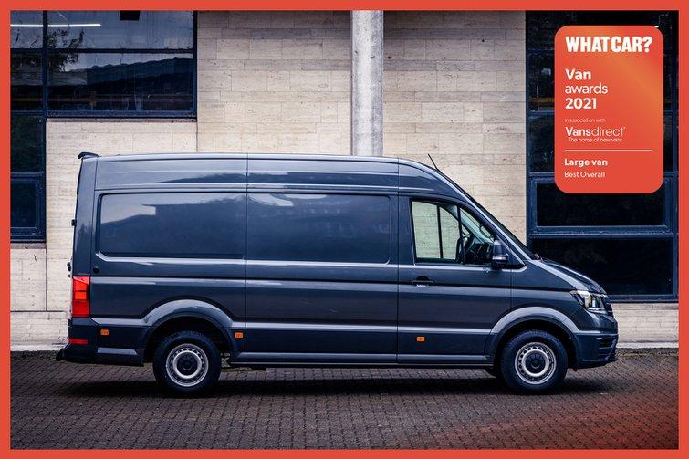Van Awards 2021 - Large Van - Best Overall (new logo)
