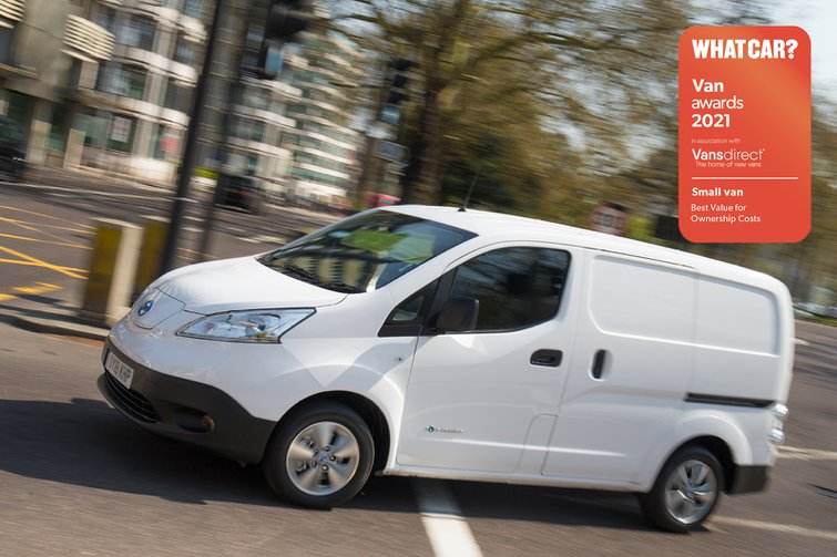 Van Awards 2021 - Small Van - Best Value for Ownership Costs (new logo)