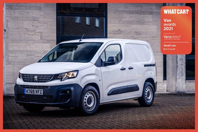 Van Awards 2021 - Small Van - Best Overall (new logo)