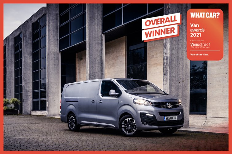 Van Awards 2021 - Overall Winner (new logo)