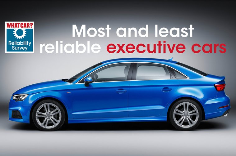 Most reliable executive cars