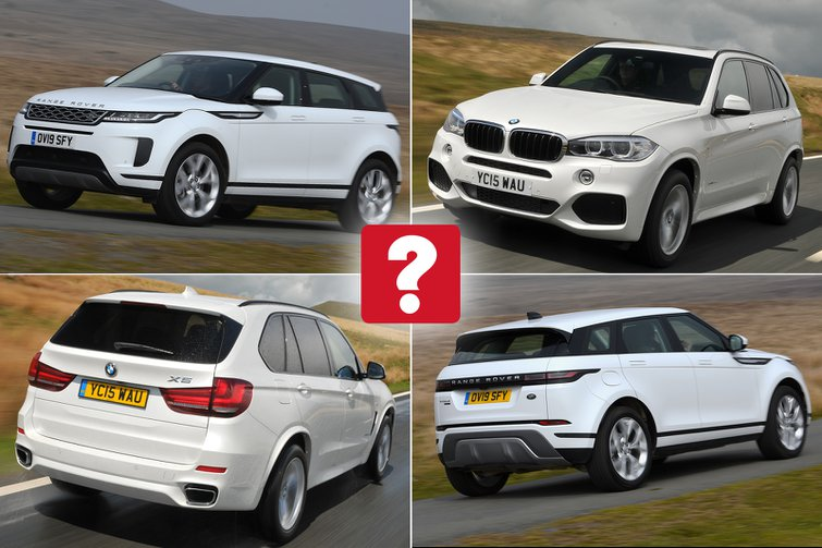 New Range Rover Evoque vs used BMW X5