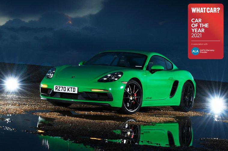 Sports Car of the Year - Porsche 718 Cayman GTS