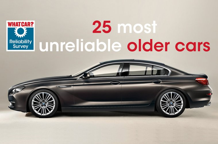 25 most unreliable older cars