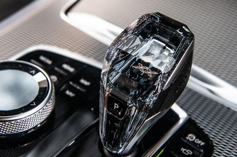 BMW X5 gear lever