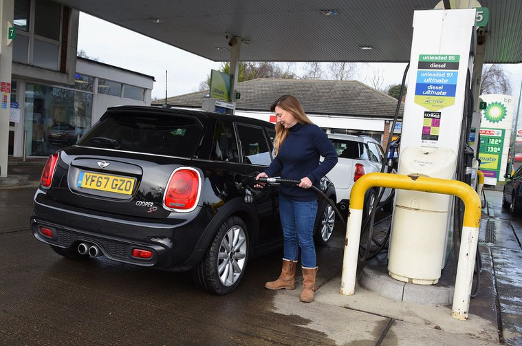 Mini petrol station