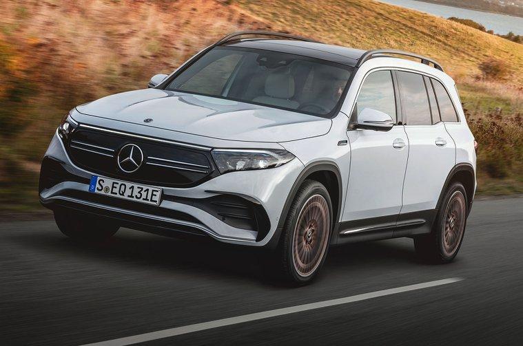 2021 Mercedes EQB front