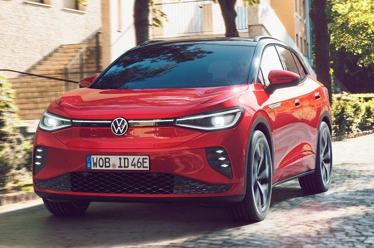 Volkswagen ID.4 GTX front