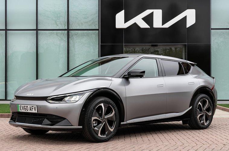 2021 Kia EV6 front