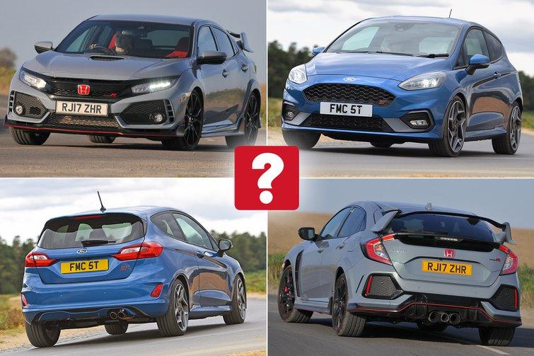 New Ford Fiesta ST vs used Honda Civic Type R