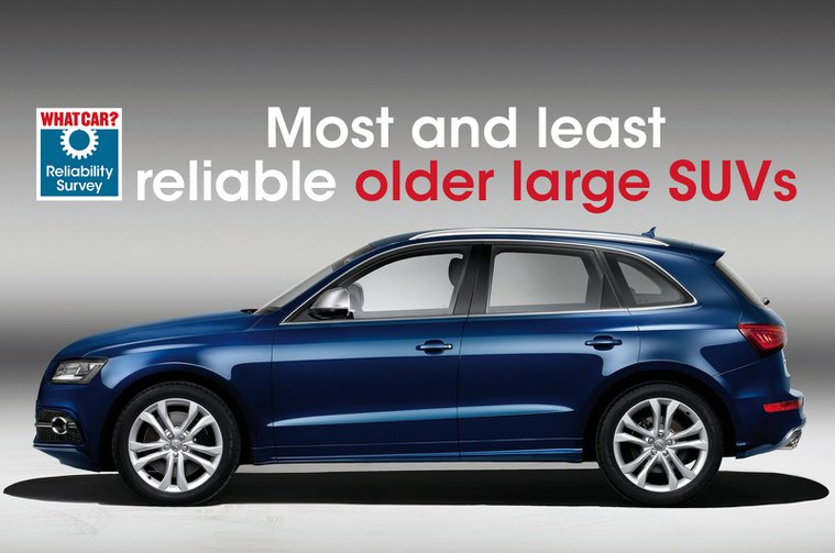 Most and least reliable older large SUVs