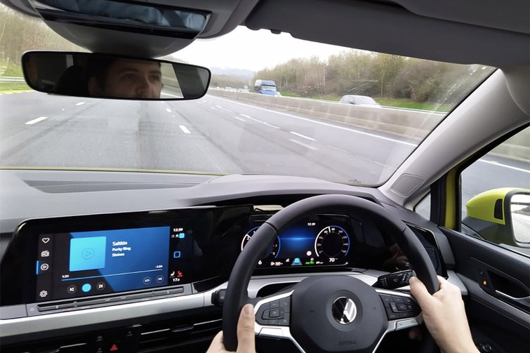 Volkswagen Golf long-term driving view