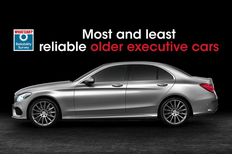 Most and least reliable older executive cars