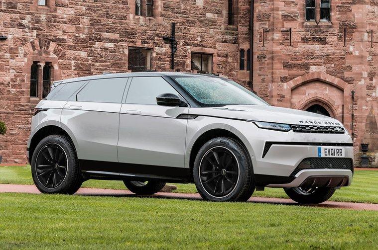 2024 Range Rover Evoque - Ön
