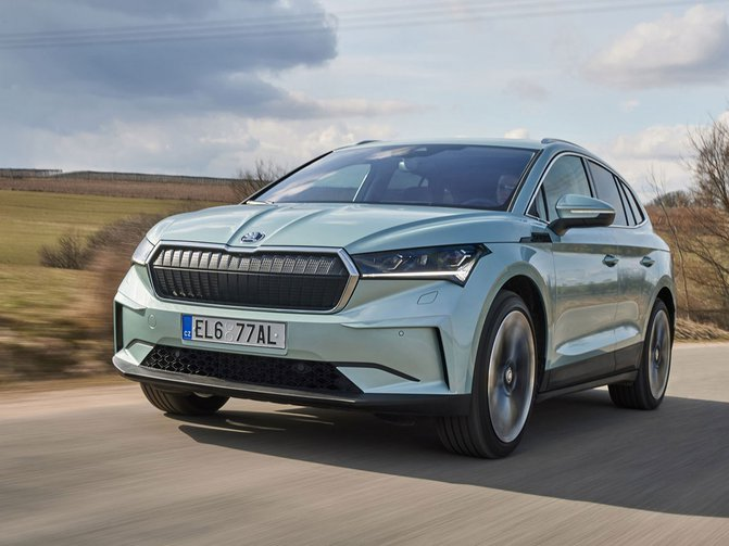 The all-electric Skoda Enyaq iV SUV boasts impressive range, a spacious tech-packed family-friendly interior and incredibly low BIK rates