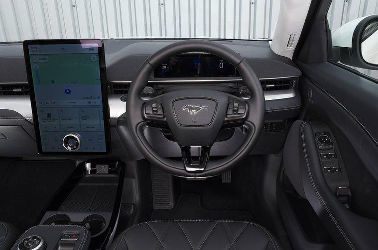 Ford Mustang Mach-E 2021 dashboard