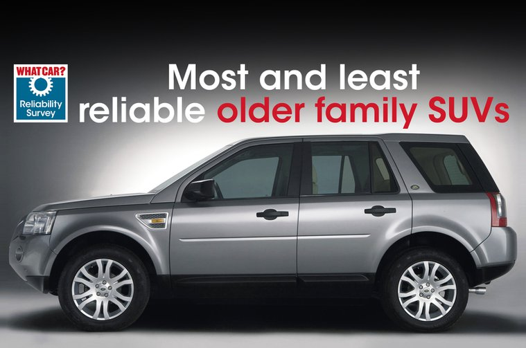 Most and least reliable older family suvs