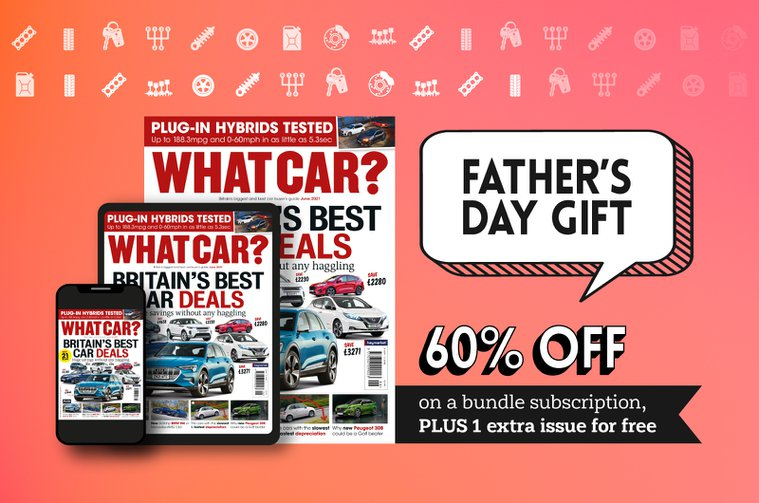What Car father's day offer header