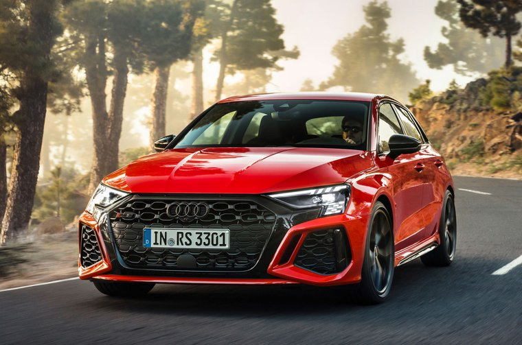 2021 Audi RS3 front
