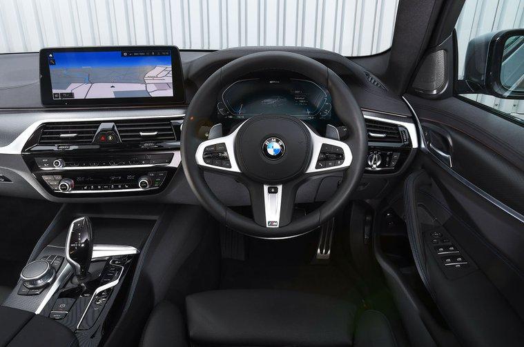 BMW 530e 2021 dashboard