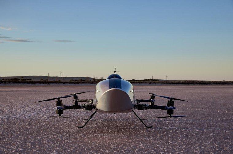 2021 AirSpeeder racer front