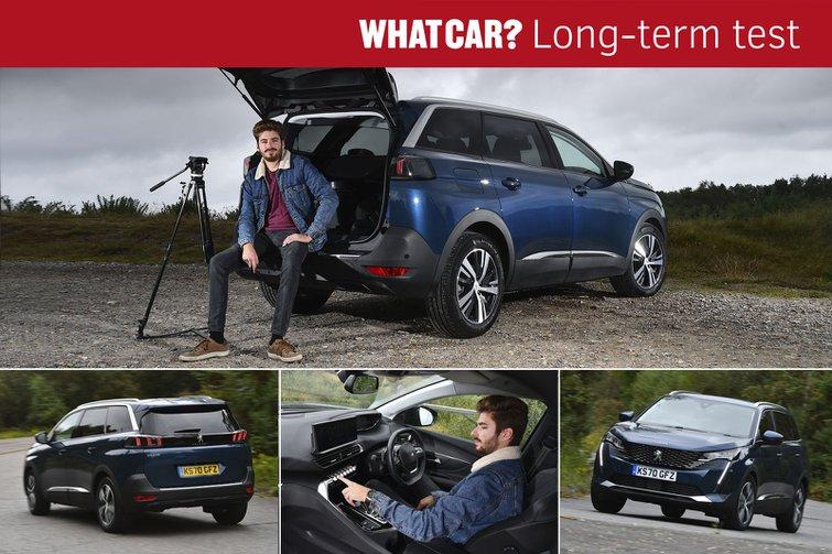 Peugeot 5008 long term report