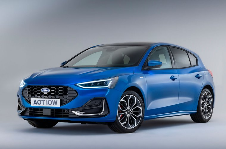 2022 Ford Focus front