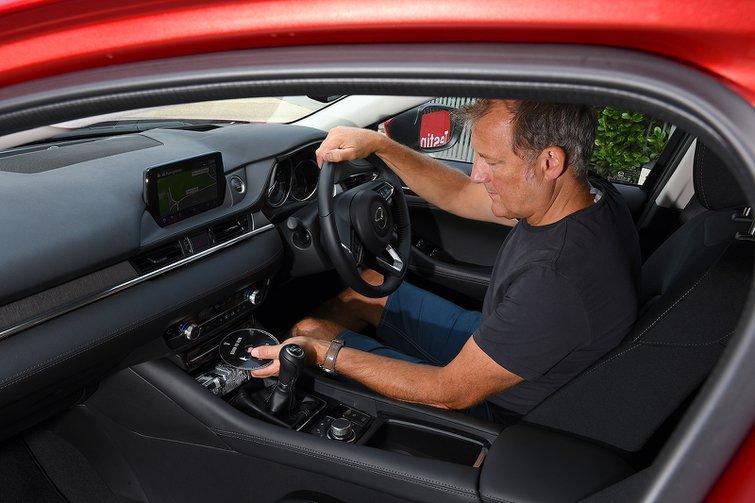 Mazda 6 long-term CD player