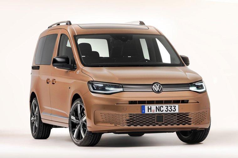 2021 Volkswagen Caddy front