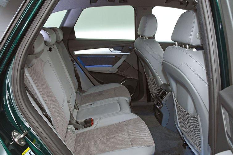 Audi Q5 back seats