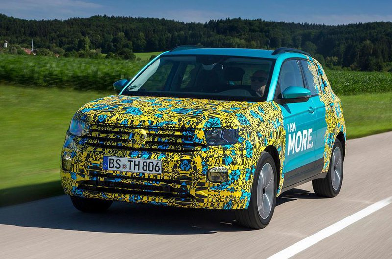2018 Volkswagen T-Cross exclusive Reader Test Team preview
