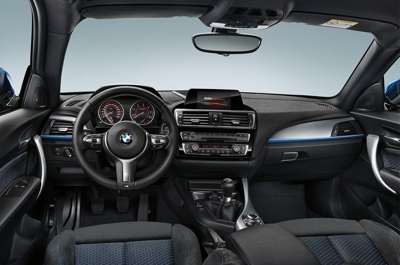 BMW 1 Series interior