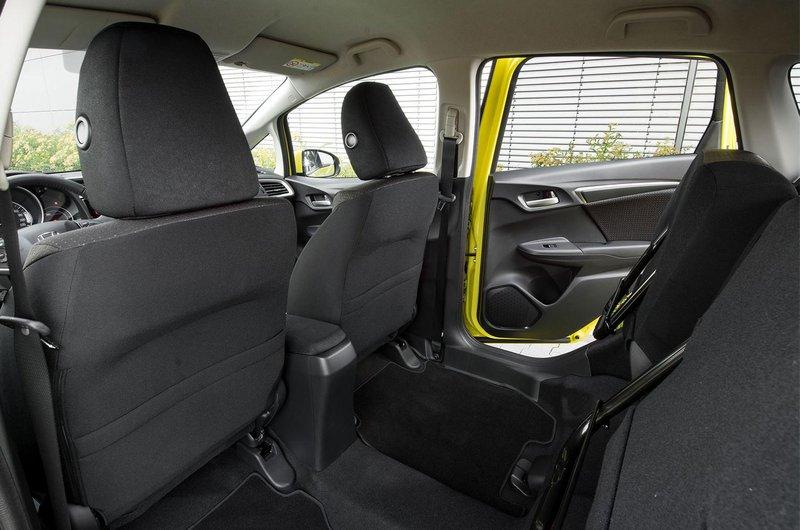 Honda Jazz interior with magic rear seat