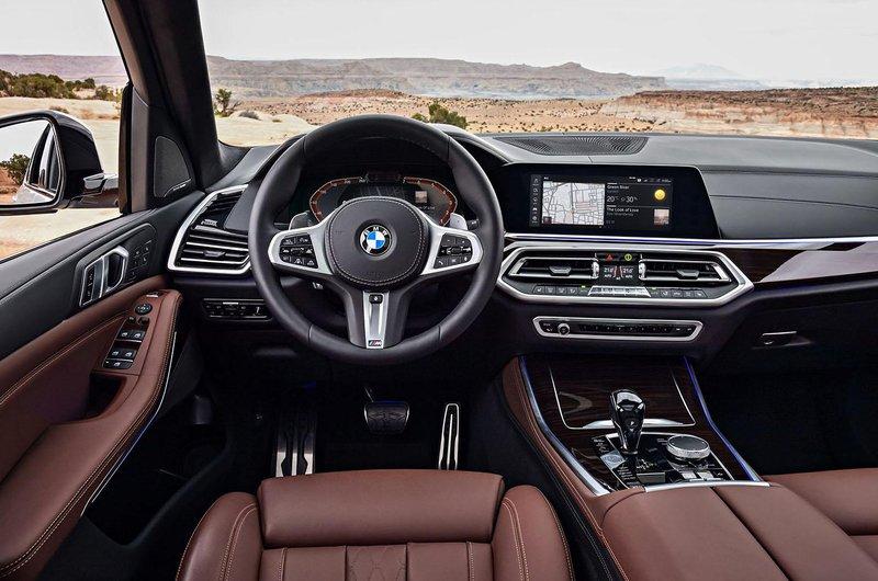 2018 BMW X5 dashboard