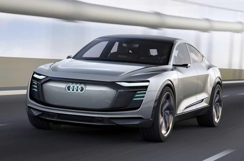 Audi E Tron Sportback Front On 2019 A Second Electric Car