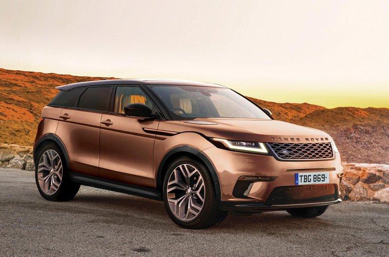 2019 Range Rover Evoque front