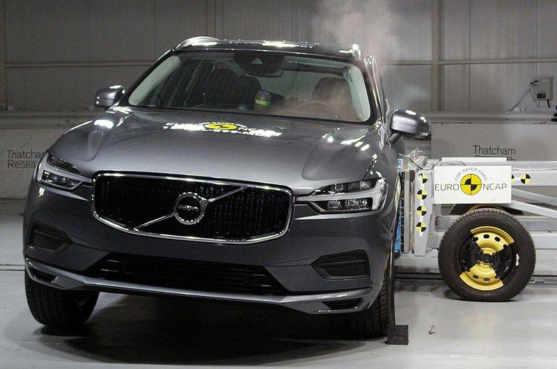 Volvo XC60 crash test
