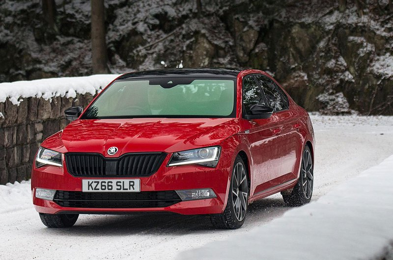 Skoda Superb heated windscreen