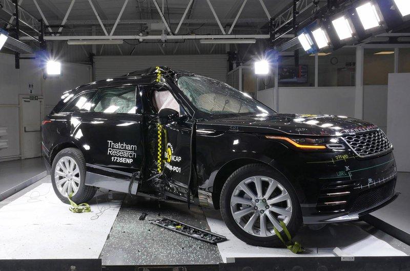 Range Rover Velar crash test
