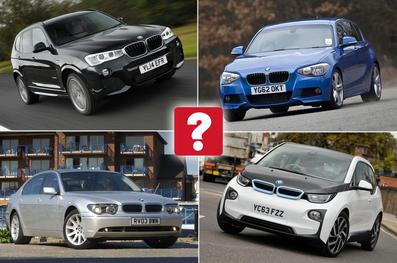 Best used BMWs collage
